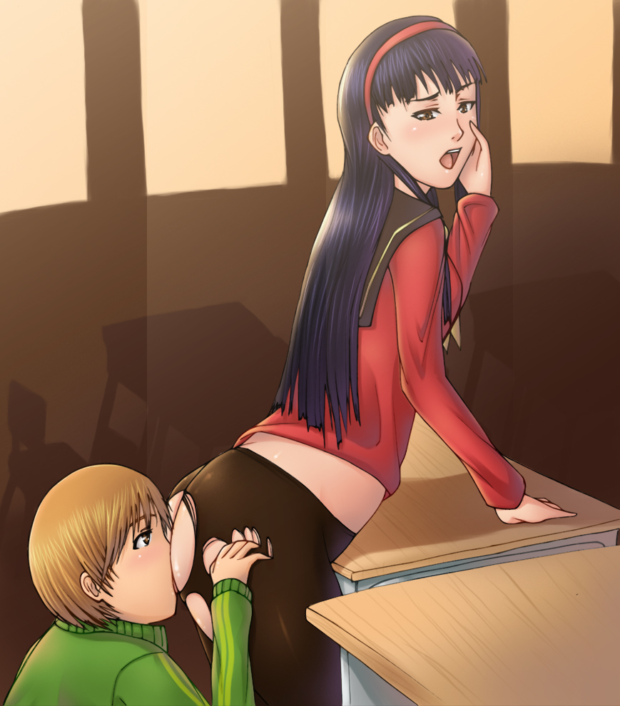 yukiko 4 x persona chie My very own lith images