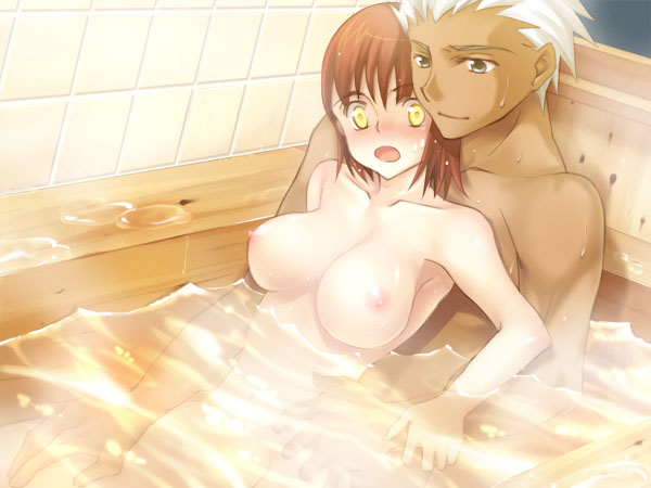 shirou night rider stay fate and Beth from walking dead nude