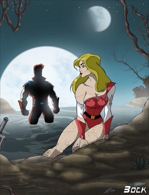 princess of ra power she porn Robin and starfire in bed