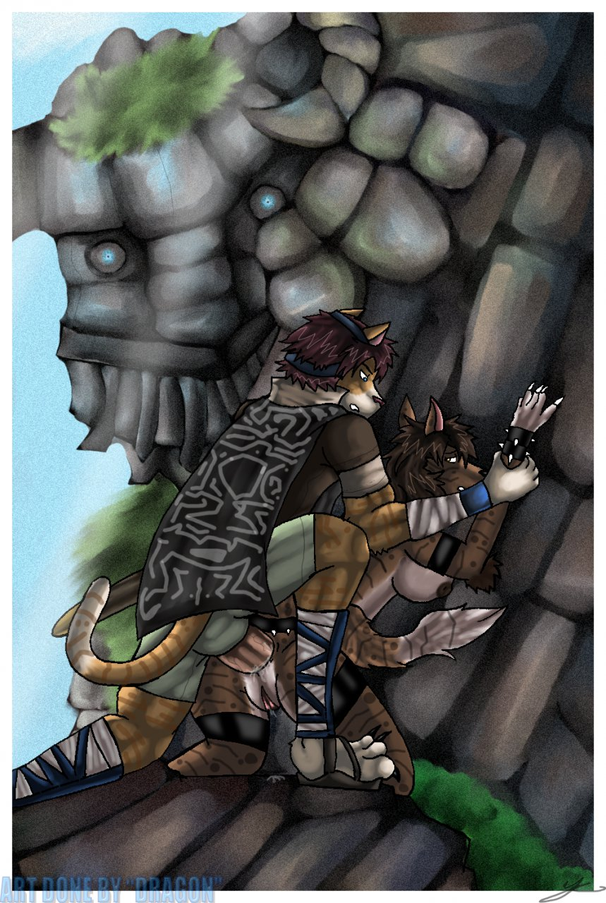 mono the colossus feet of shadow Uni the unicorn dungeons and dragons