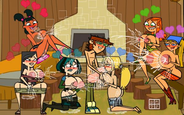 sex island comic total drama Project x love potion disaster gif