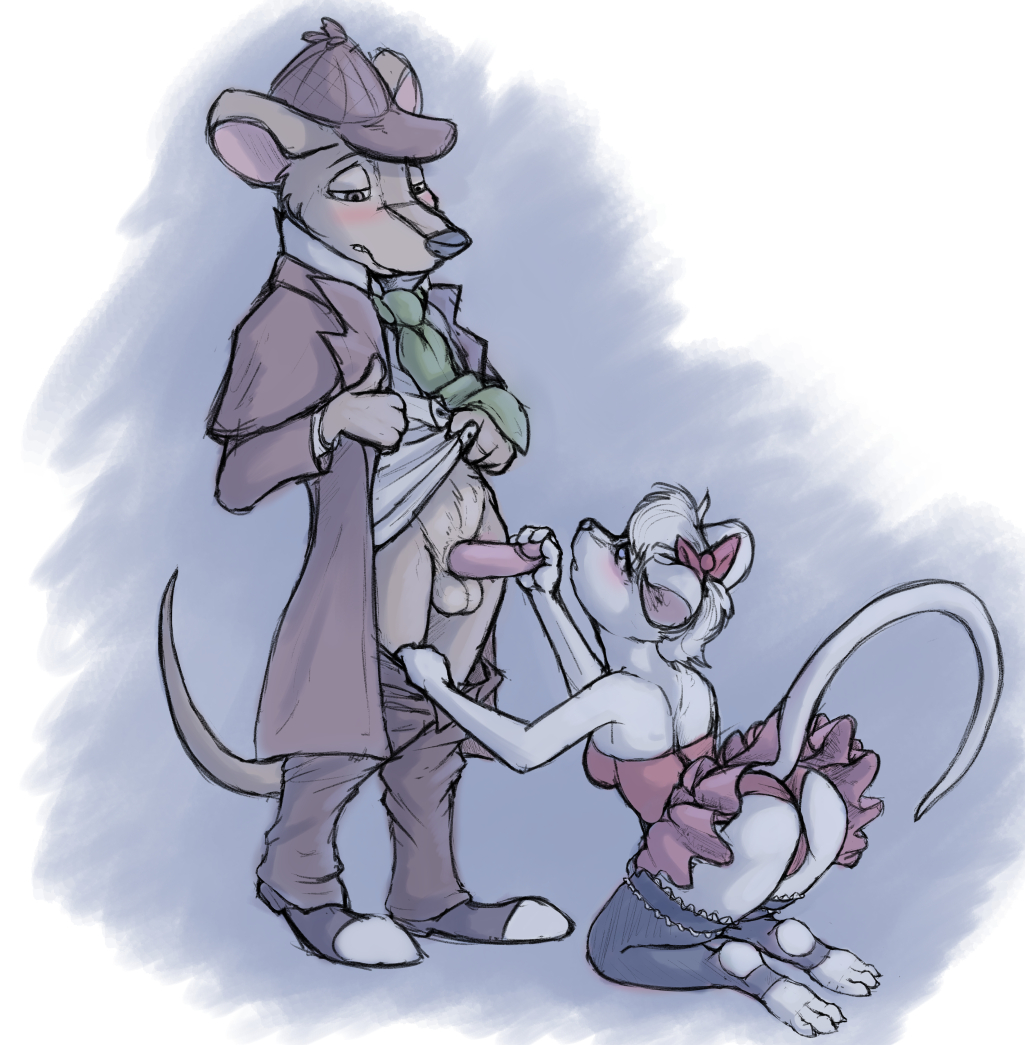 the olivia great mouse detective flaversham Sakura tied up and gagged