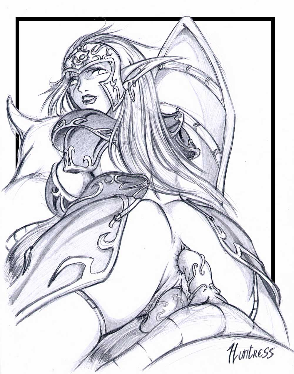 warrior animations night elf female Princess and the frog nude