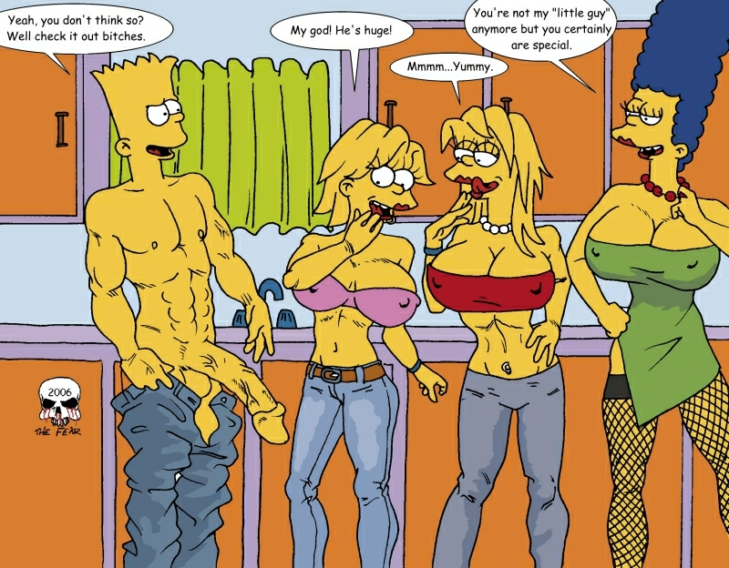 simpson with marge bart naked Lilo and stitch pleakley and jumba