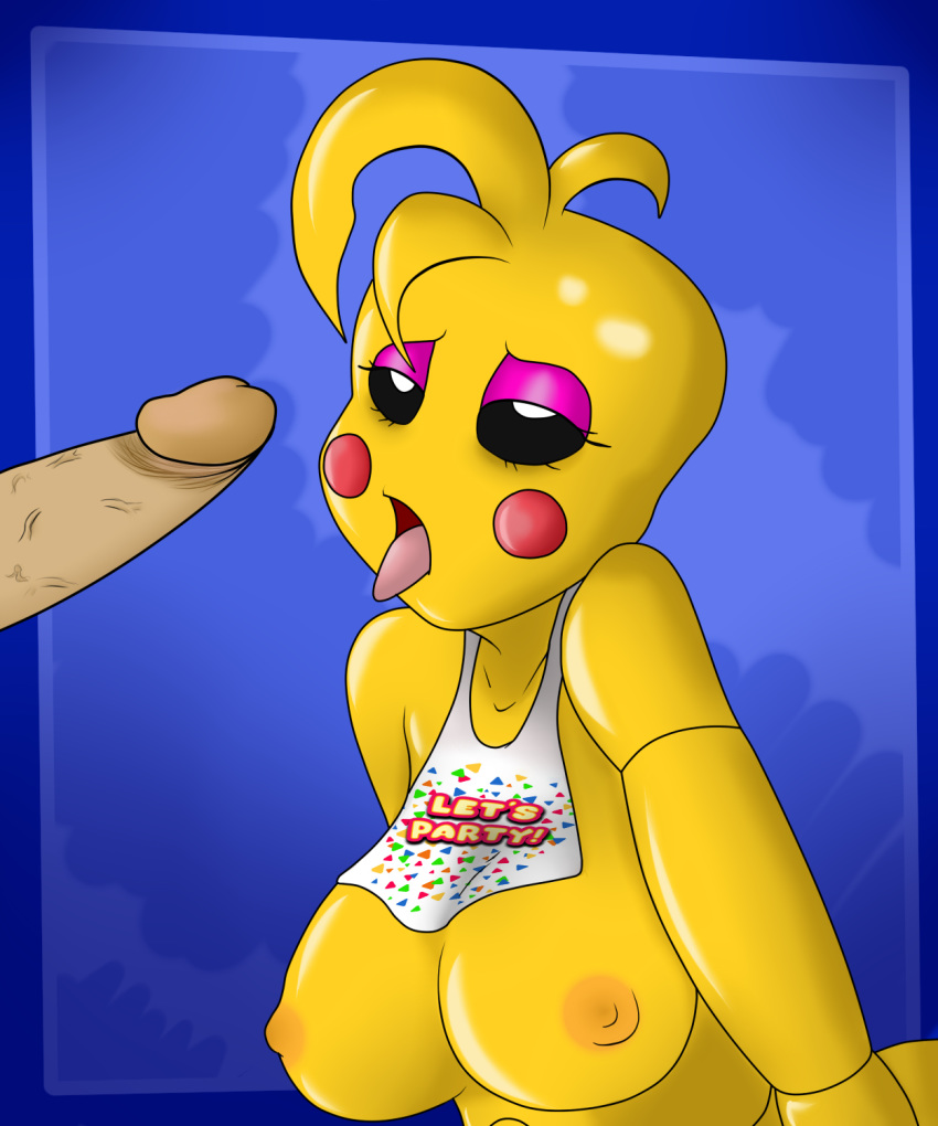 fnaf chica mangle toy or Toy freddy x toy chica
