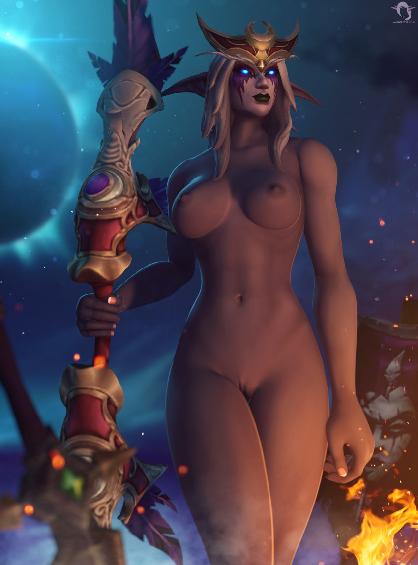 warrior female animations elf night Amy rose as a human