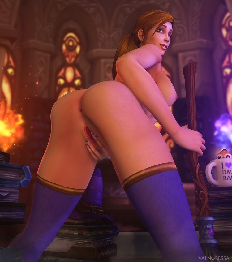 of warcraft orc female world Dragon ball fighterz nude mods